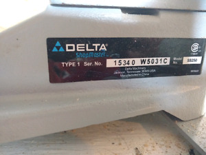 Never used delta scroll saw
