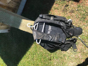 Scuba BCD and regulator for sale
