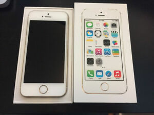 Unlocked Gold iPhone 5S 32gb