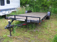 Huge Flat Bed Trailer, great condition!