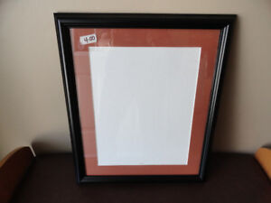 Picture Wood Frame With Glass - 10 x 13 - Black