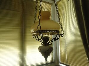 Hanging Lamp embossed  with the year 1736 North Shore Greater Vancouver Area image 3