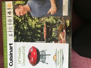 Cuisinart  14 inch Portable charcoal  Grill