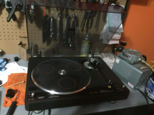 Vintage ADC  1600DD Direct Drive Automatic Return Turntable -'79
