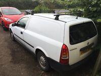 Vauxhall Astra van 4 seater