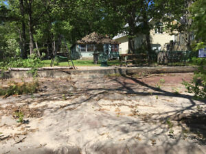 Beach lot. 25 minutes from Kanata. Usable Cottage. N/gas on st.