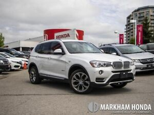 2017 BMW X3 Xdrive28i - NO ACCIDENTS|1OWNER|BACKUP CAMERA|