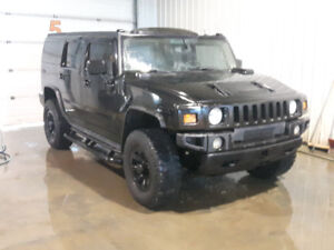 2003 HUMMER H2 Supercharged, Blacked out