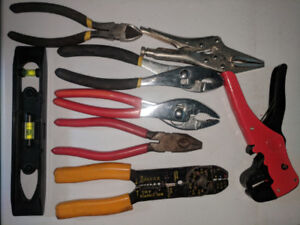 Pliers, wire cutters/strippers