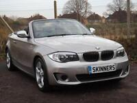 BMW 1 Series 118i Exclusive Edition Convertible PETROL AUTOMATIC 2013/13