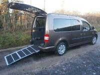 2011 Volkswagen Caddy Maxi Life 1.6 TDI 5dr WHEELCHAIR ACCESSIBLE VEHICLE 5 d...