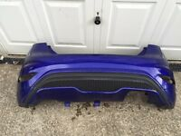 Genuine Ford fiesta ST Rear Bumper 2013-2014-2015-