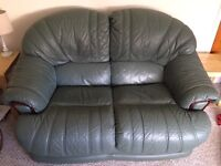 1 two seater sofa and 2 chairs