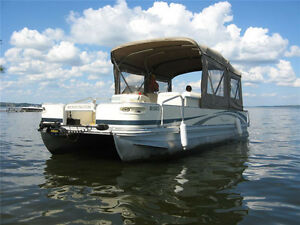 Pontoon Boat for Sale - Great Condition!
