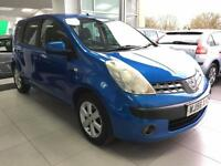 2006 Nissan Note 1.6 16v SE - 5 SERVICE STAMPS - 1 F Keepers - 2 Keys