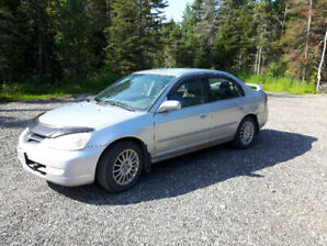 For sale 2003 Acura el 1.7