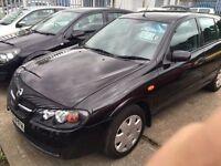 2003 Nissan ALMERA- 1.5 Petrol, MANUAL, SERVICE HISTORY, Good Condition, LONG MOT