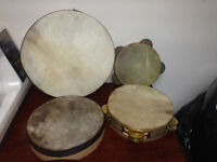 Drums and Tambourines