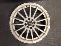 """Wolfrace Pro Sprint 17"""" 4x108 4x100 Alloy Wheels"""