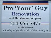 Part-time/on-call handyperson