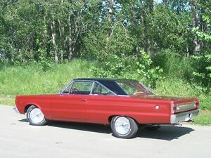 1967 Plymouth Satelite - 2 dr, pro. restored/rebult to last bolt