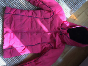 Manteau hiver North face, Rossignol 8-10 ans