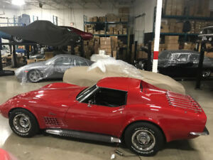 1972 Corvette Coupe Documented Numbers Matching 350 4 Speed