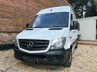 2014 Mercedes-Benz Sprinter 310 SWB 3.5t 2.1 CDI High Roof Manual White Ply-Line