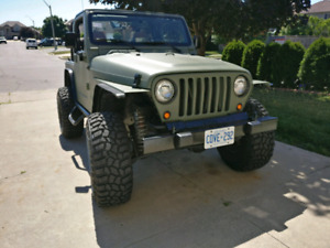 2003 JEEP TJ SPORT 4X4 5 SPEED V6 4.0L