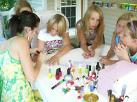 Childrens Little Miss Birthday Party - Manicures & Pedicures