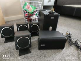 Suround speaker system
