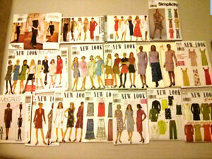 Variety of sewing patterns 18 lot for $36