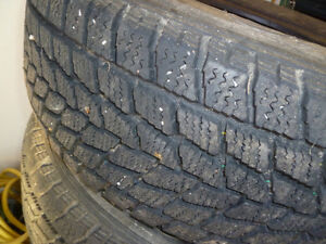 snow tires for sale, only used one year Kawartha Lakes Peterborough Area image 2