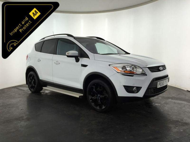 White   Ford Kuga Titanium Tdci Estate  Bhp Finance Px Welcome