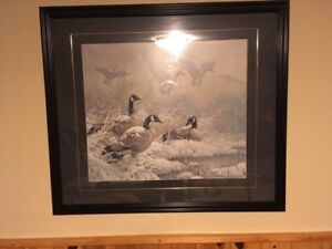 Wildlife prints . Ducks unlimited.