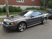 2003 Ford Mustang leather Convertible, never winter driven!