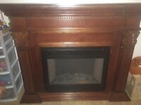ELECTRIC FIREPLACE :)