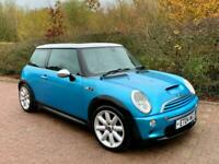 2004 MINI HATCHBACK 1.6 Cooper S R53 Supercharged JCW 65,000 Miles Electric Blue