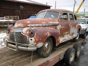 Wanted Parts Car 41- 47 Chev   Any Shape