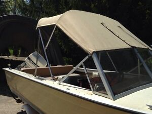 16' Starcraft aluminum  boat with 60 HP Johnson outboard