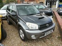 2004 4x4 estate Toyota RAV4 2.0 D-4D XT3 low miles fsh