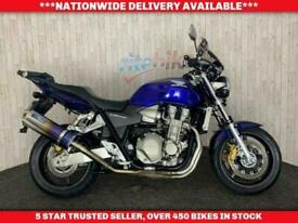 HONDA CB1300 CB 1300 ABS BLUE FLAME EXHAUST LOW MILEAGE 2005 55