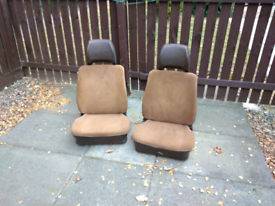 2 campervan seats t25