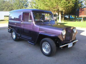 1949 WILLYS DELIVERY SEDAN - JEEP