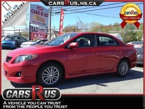 2010 Toyota Corolla S.....Includes 4 FREE winter tires!!
