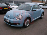 2015 Volkswagen Beetle 2.0TDI Design DAMAGED REPAIRABLE SALVAGE