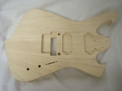 tm RG Necks Star Destroyer Hardtail HXX rg jem Guitar Body Fits Ibanez