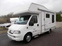 Elddis Autoquest 150 Rear Lounge 4 Berth Motorhome with Great Extras