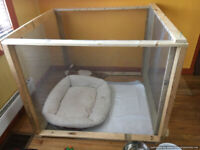 Puppy enclosure and other puppy accessories