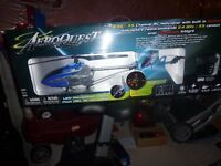 NEW unopened aeroquest 2.4g 3.5 channel rc helicopter with built
